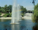 Dnipropetrovsk. Fountains in park of L. Globa, Dnipropetrovsk Region, Cities
