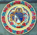 Petrykivka. Plate with emblem of Dnipropetrovsk Region, Dnipropetrovsk Region, Museums