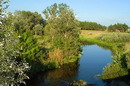 Kytayhorod. Bend of river Oril, Dnipropetrovsk Region, Rivers