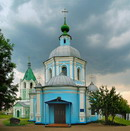 Kytayhorod. Parade facade of Assumption Church, Dnipropetrovsk Region, Churches