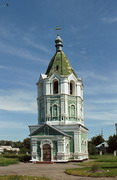 Kytayhorod. Bell tower of St. Barbara, Dnipropetrovsk Region, Churches