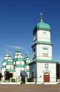 Novomoskovsk. Wooden Trinity Cathedral and Bell Tower, Dnipropetrovsk Region, Cities
