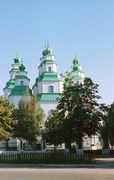 Novomoskovsk. Nine-domes Trinity Cathedral, Dnipropetrovsk Region, Cities