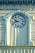 Novomoskovsk. Clock on Trinity Cathedral bell tower, Dnipropetrovsk Region, Churches