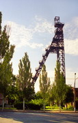 Kryvyi Rih. Mine in city, Dnipropetrovsk Region, Cities