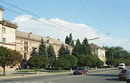 Kryvyi Rih. City street, Dnipropetrovsk Region, Cities