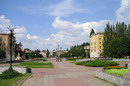 Kryvyi Rih. Houses of Soviet square, Dnipropetrovsk Region, Civic Architecture
