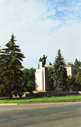 Kryvyi Rih. Artem – main symbol of Ukrainian industrialization, Dnipropetrovsk Region, Monuments