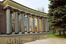 Kryvyi Rih. Colonnade of Metallurgists palace, Dnipropetrovsk Region, Civic Architecture