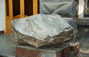 "Artemivsk. Lump of quartzite at building association ""Donbassgeologiya"", Donetsk Region, Geological sightseeing"