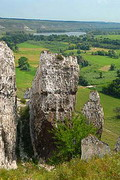 Bilokuzmynivka. Cretaceous rocks, Donetsk Region, Geological sightseeing