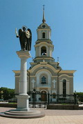 Donetsk. Archangel Michael and Cathedral of Transfiguration, Donetsk Region, Monuments