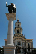 Donetsk. Archangel Michael and Cathedral, Donetsk Region, Monuments