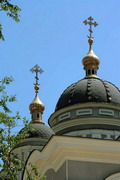 Donetsk. Domes of Cathedral, Donetsk Region, Churches