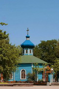 Donetsk. Chapel of St. Sergius Radonezhskyi, Donetsk Region, Churches