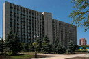 Donetsk. Impressive building of regional administration, Donetsk Region, Civic Architecture