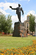 Donetsk. Most recognizable monument of city, Donetsk Region, Monuments