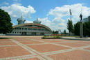 "Donetsk. Square in front sports complex ""Olympic"", Donetsk Region, Civic Architecture"