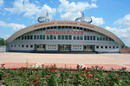 "Donetsk. Parade facades sports complex ""Olympic"", Donetsk Region, Civic Architecture"