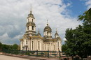 Donetsk. Territory of Holy Transfiguration Cathedral, Donetsk Region, Churches