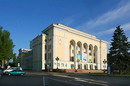 Donetsk. Russian academic theater of Opera and ballet, Donetsk Region, Cities