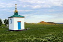 Kamiani Mohyly Reserve. Chapel, Donetsk Region, Churches