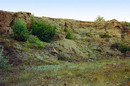Kostiantynivka. Sandstones of Upper Carboniferous, Donetsk Region, Geological sightseeing