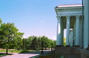 Kramatorsk. Front portico of Palace of culture, Donetsk Region, Civic Architecture