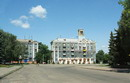 Kramatorsk. Building on square of V. Lenin, Donetsk Region, Cities