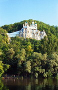 Sviatogirska lavra. Shrine of Siverskyi Donets, Donetsk Region, Monasteries