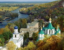 Sviatogirska lavra. Lavra and post-Soviet sanatorium, Donetsk Region, Monasteries