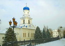 Sviatogirska lavra. Church of Intercession and tower, Donetsk Region, Monasteries
