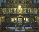 Sviatogirska lavra. Central part of altar Assumption Cathedral, Donetsk Region, Monasteries