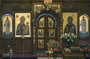 Sviatogirska lavra. Royal doors of Assumption Cathedral, Donetsk Region, Monasteries