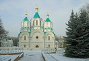 Sviatogirska lavra. Five-domed Assumption Cathedral, Donetsk Region, Monasteries