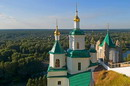 Sviatogirska lavra. Nicholas church and St. Andrew's chapel, Donetsk Region, Monasteries