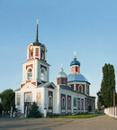 Sloviansk. Holy Resurrection church, Donetsk Region, Churches