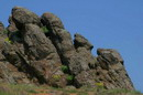 Starolaspa. Steppe granite outcrops, Donetsk Region, Geological sightseeing