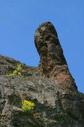 Starolaspa. Granite rock, Donetsk Region, Geological sightseeing