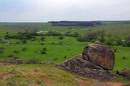 Starolaspa. Steppe landscape, Donetsk Region, Geological sightseeing