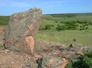 Telmanove. Granite upstart, Donetsk Region, Geological sightseeing