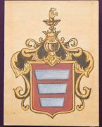 Verkhivnia. Coat of Arms kind Ghanskikh, Zhytomyr Region, Country Estates