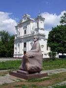Korostyshiv. Monument to Gustav Olizar and Church, Zhytomyr Region, Churches