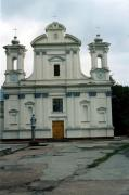 Korostyshiv. Front facade of church, Zhytomyr Region, Churches