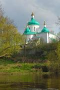 Olevsk. Nicholas Church on river bank, Zhytomyr Region, Churches