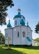 Olevsk. Altar facade Nicholas Church, Zhytomyr Region, Churches