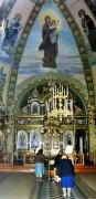 Radomyshl. Interior of St. Nicholas church, Zhytomyr Region, Churches