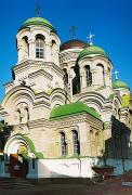 Gorodnytsia. 100-year-old St. George church, Zhytomyr Region, Monasteries