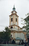 Beregove. Church reformers in city center, Zakarpattia Region, Churches