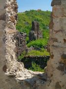 Vynogradiv. Sad view from castle window, Zakarpattia Region, Fortesses & Castles